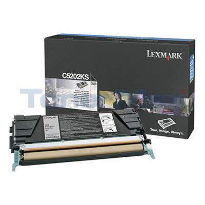 LEXMARK C520 C530 RP TONER CART BLACK